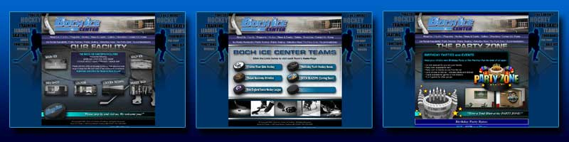 Boch Ice Center Pages